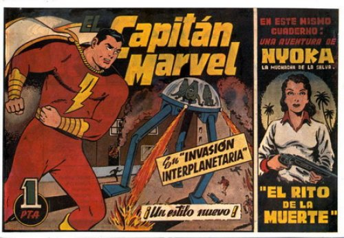capitan marvel hispano americana 1947