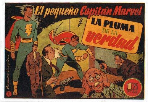 el pequeño capitan marvel hispano americana 1948