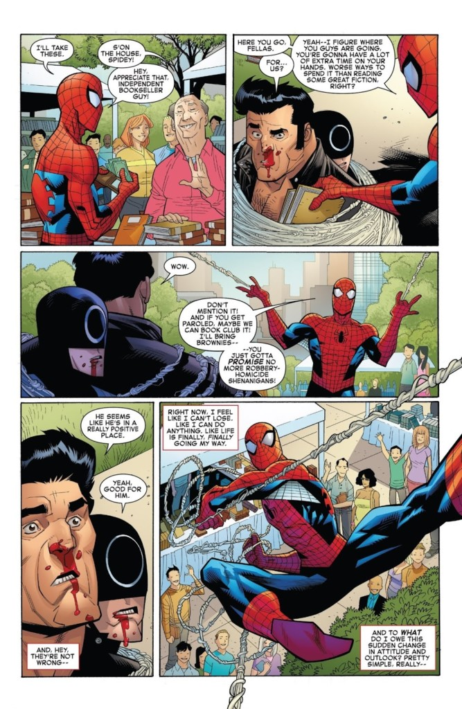 spiderman 150 regreso a las esencias pag 1