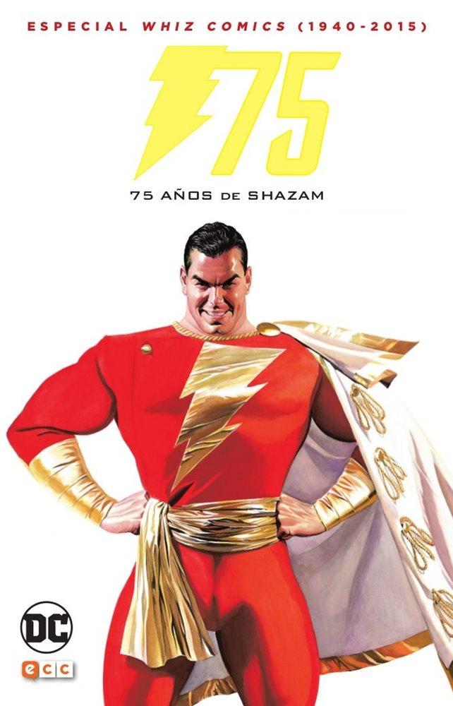 whiz comics 75 años de shazam