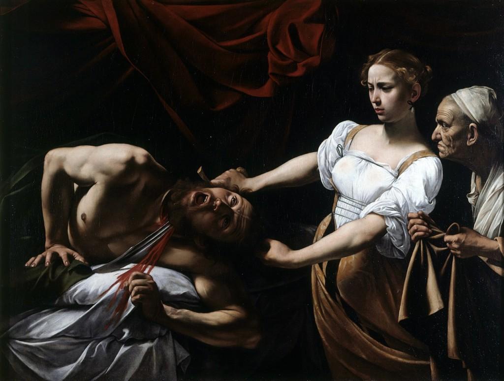 Judit y Holofernes Caravaggio