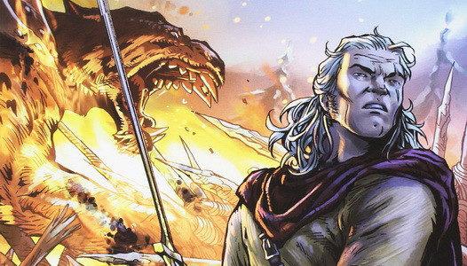Dragonero: En la tierra de los Necrófagos.