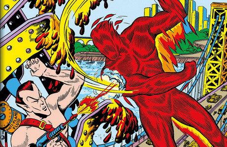Décadas: Marvel en los años 40. La Antorcha Humana contra El Hombre Submarino