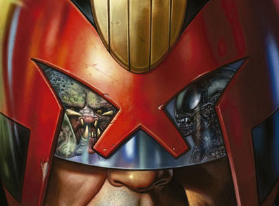 Depredador VS Juez Dredd Vs Aliens: Corta y empalma