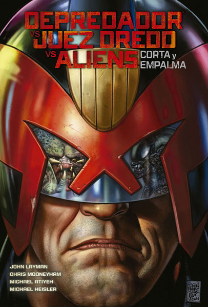 aliens vs predator vs juez dredd