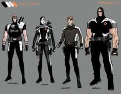 burnett diseño personajes