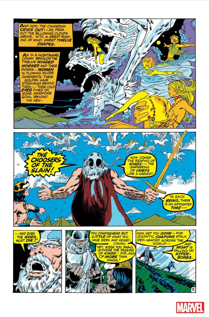 Marvel Omnibus. Conan el Bárbaro 1
