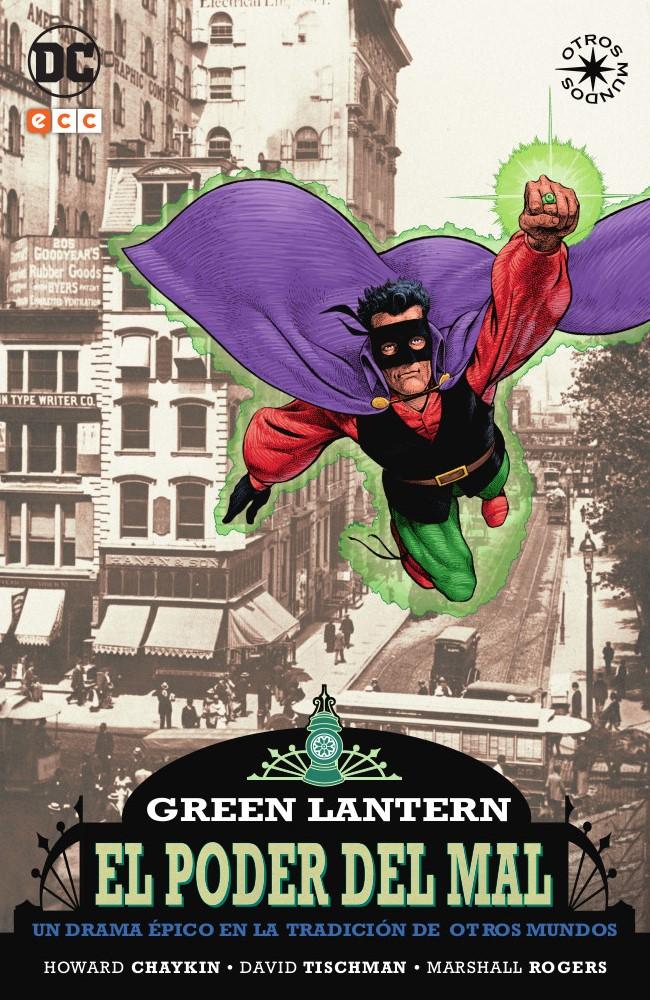 green lantern el poder del mal