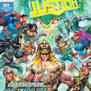 Liga de la Justicia 83 a 87: Tierra Sumergida