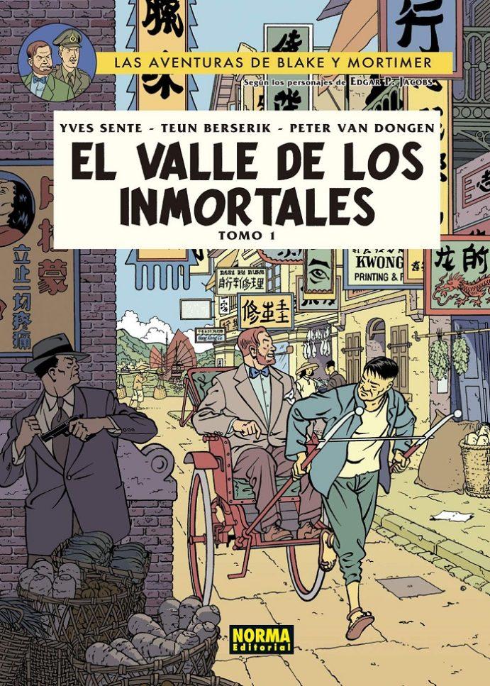 Blake y Mortimer: El Valle de los Inmortales. Tomo 1.