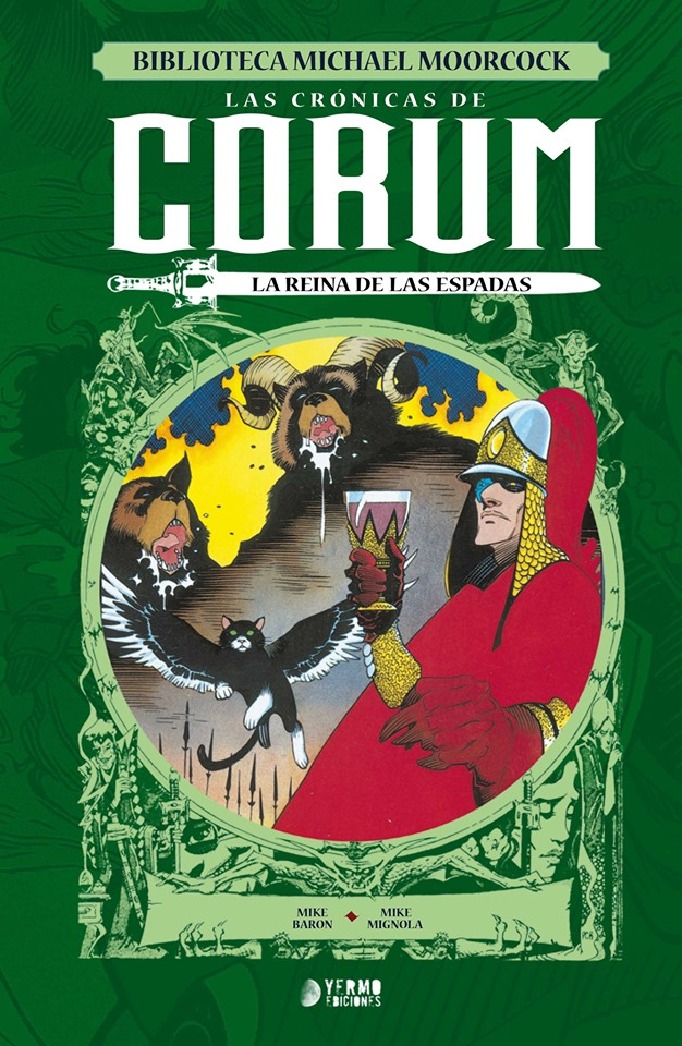 Novedades Yermo julio 2019 - Corum 02: La reina de las espadas