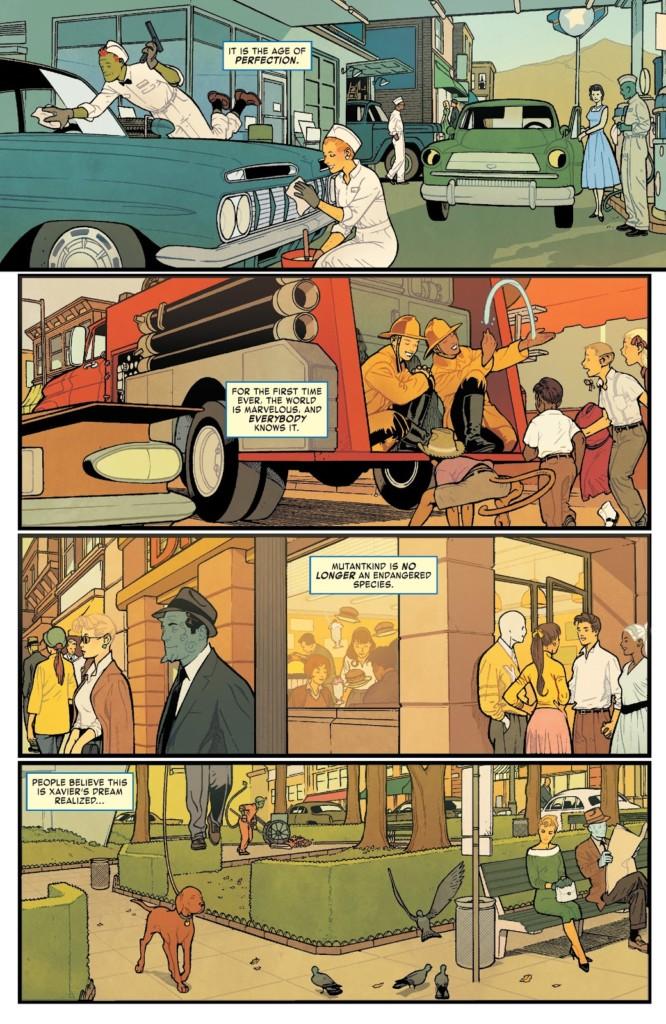 La era de Hombre X Alfa pg 1