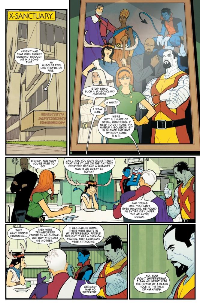 La era de Hombre X Alfa pg 2