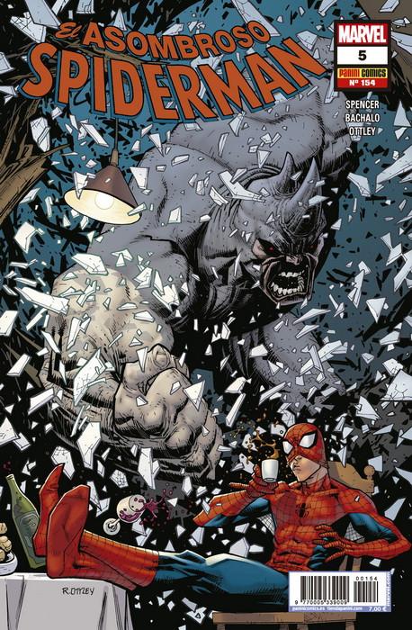 asombroso spiderman 5
