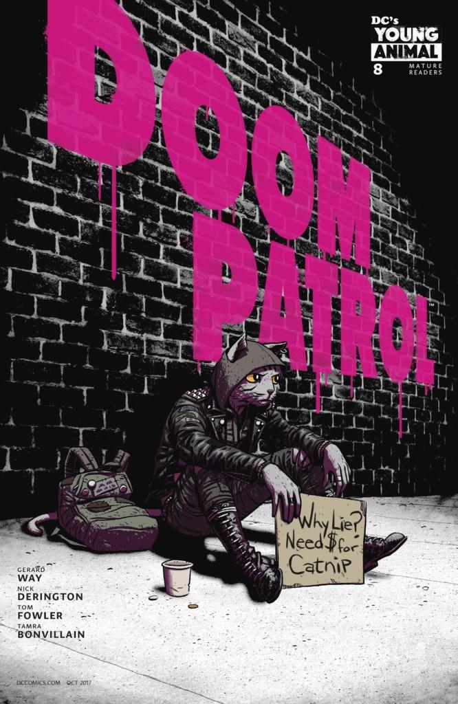 doom patrol 8 portada