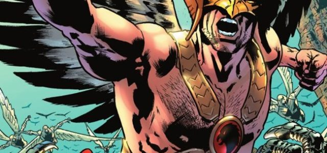 Hawkman de Robert Venditti y Bryan Hitch