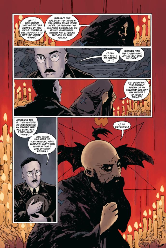 Rasputín. La voz de dragón