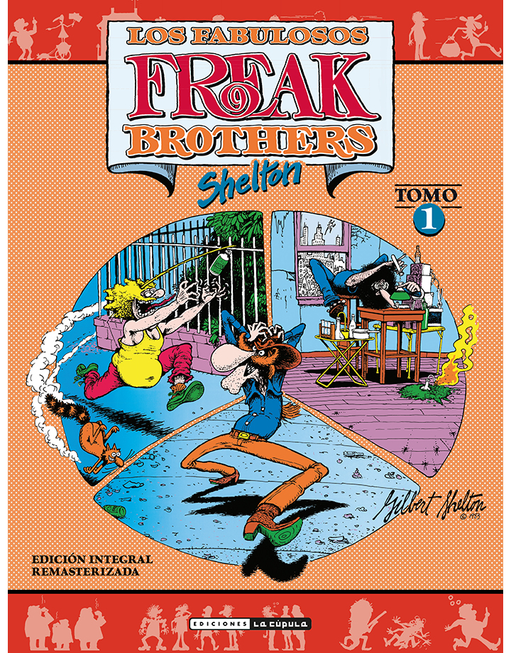 Shelton - Integral de los Fabulosos Freak Brothers - Volumen 1