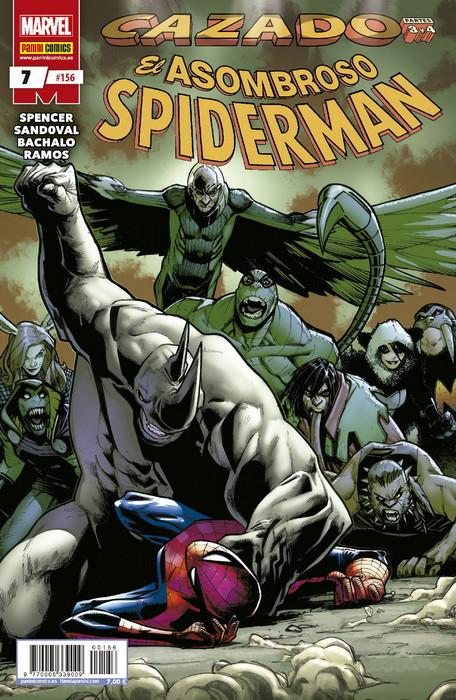 spiderman 7 cazado 2