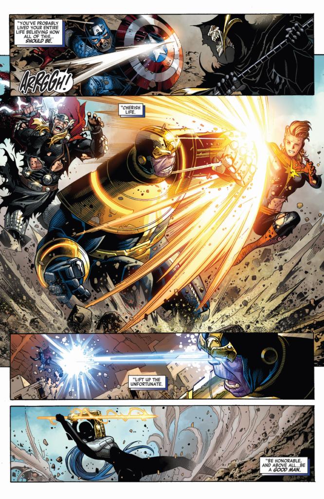 Los Vengadores de Jonathan Hickman 4