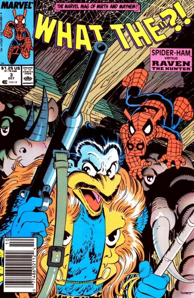 spiderham what-the-el-alma-del-cazador