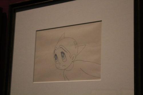 Boceto de la serie de animación de Astroboy