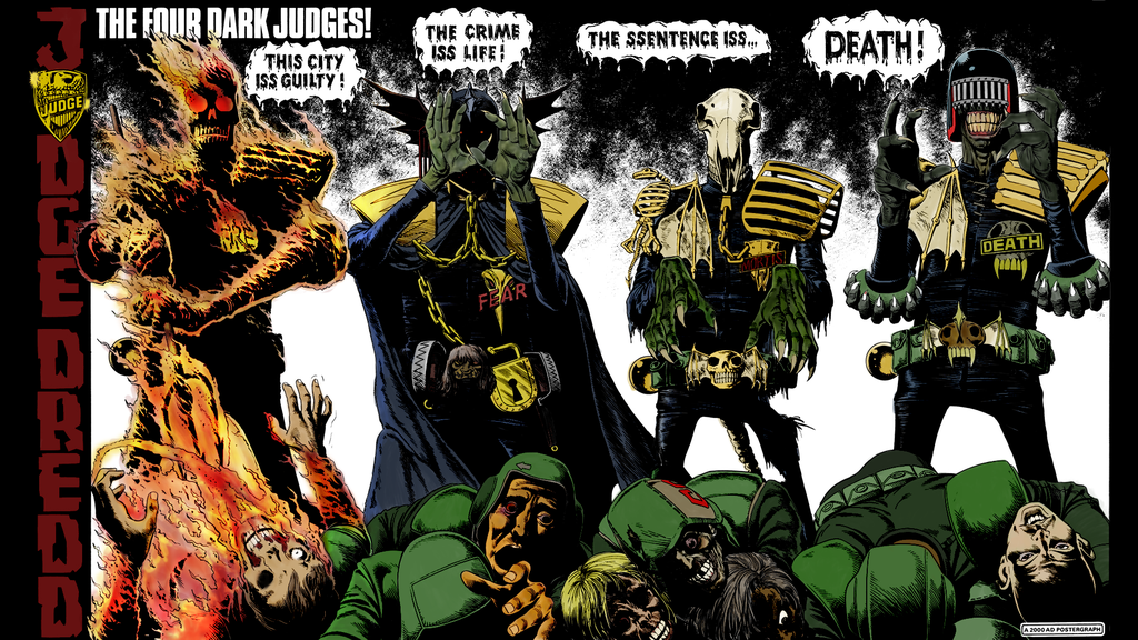 juez dredd jueces oscuros presentación