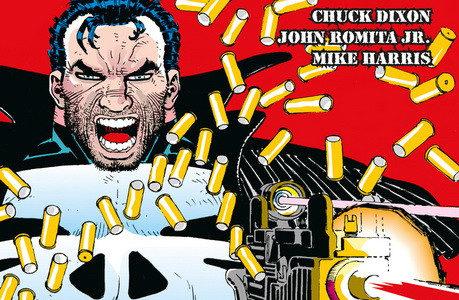 100% Marvel HC. El Castigador: Zona de guerra, de Chuck Dixon y John Romita Jr.