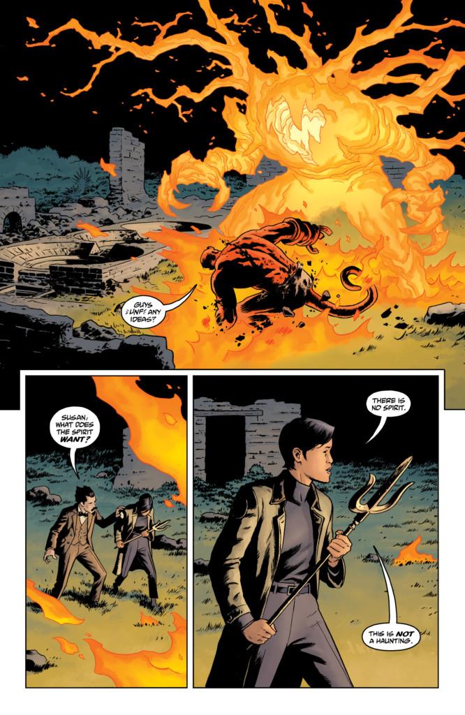 Hellboy y la AIDP 1955
