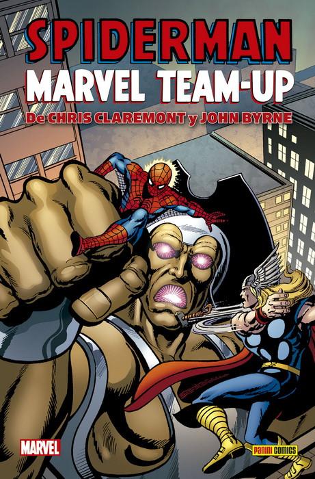 spiderman marvel team up claremont byrne