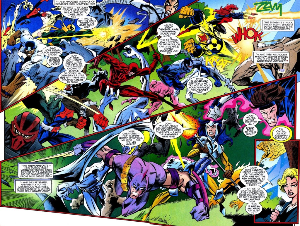 Heroes Return. Thunderbolts 1