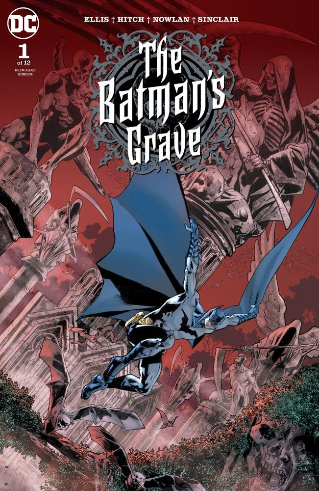 The Batman's grave