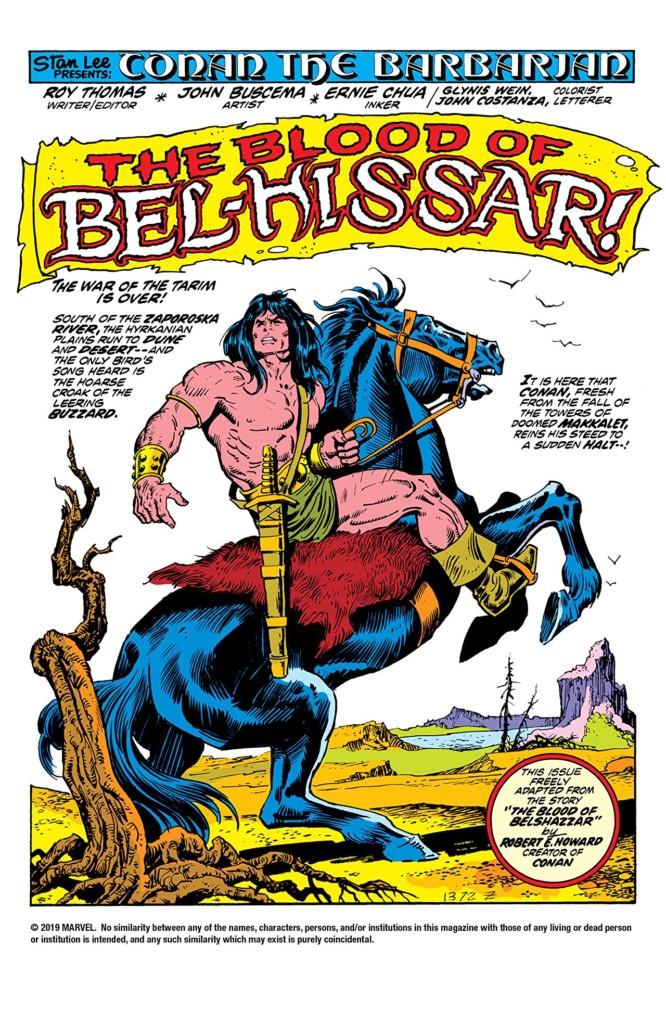 Marvel Omnibus. Conan el Bárbaro: La Etapa Marvel Original 2