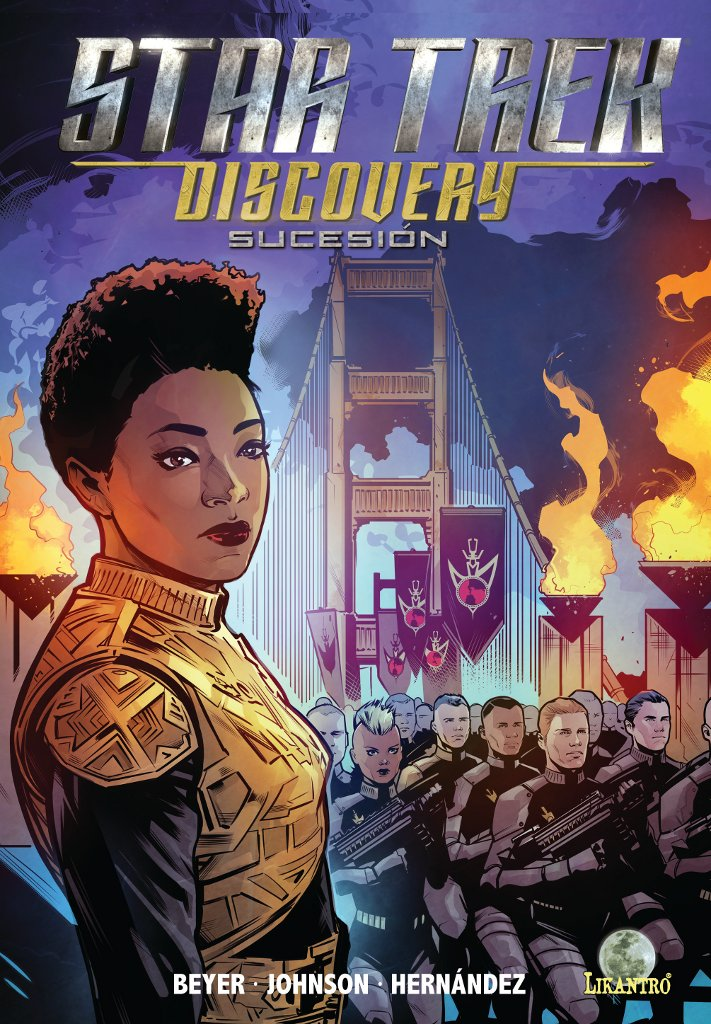 star trek discovery sucesion