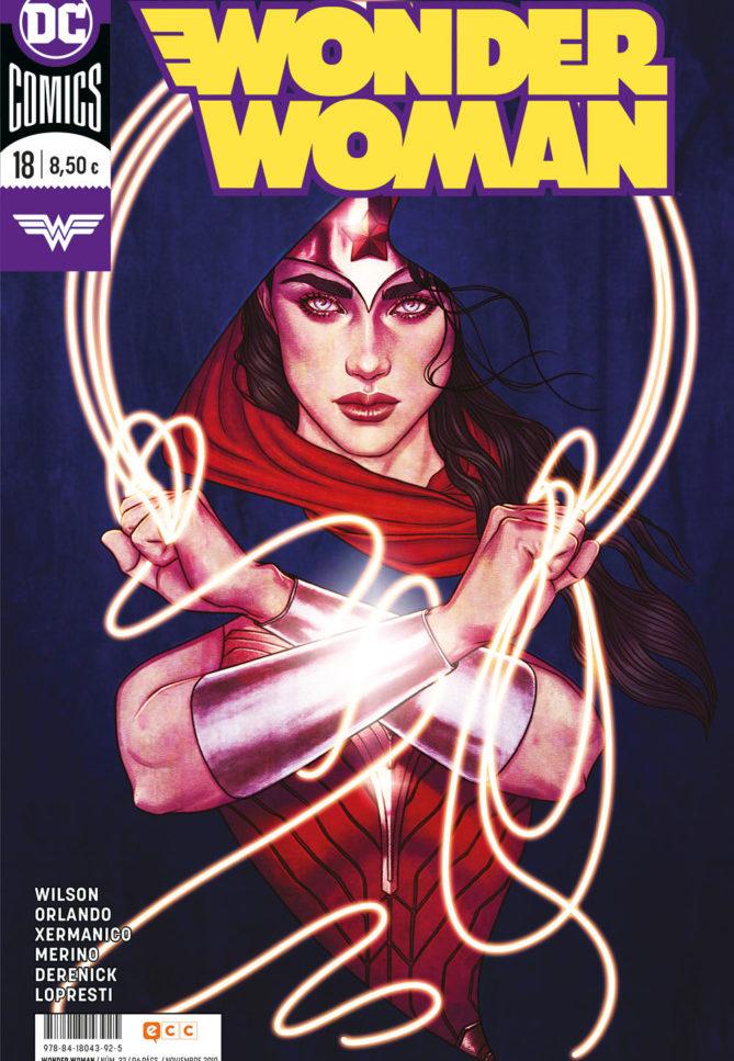 Wonder Woman nº18: El amor es un campo de batalla