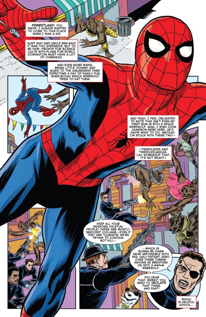 El Asombroso Spiderman Círculo Cerrado pg1