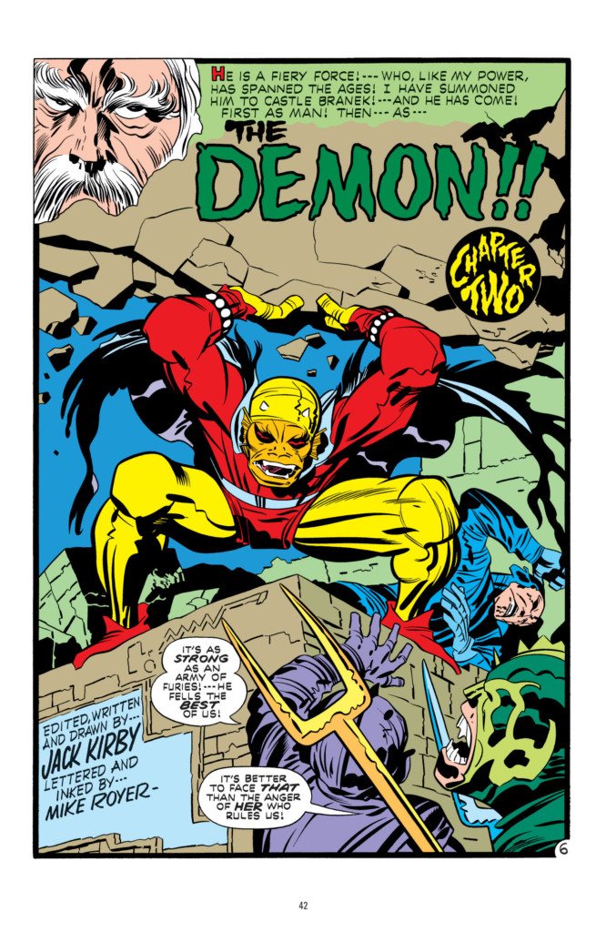 The Demon by Jack Kirby 1