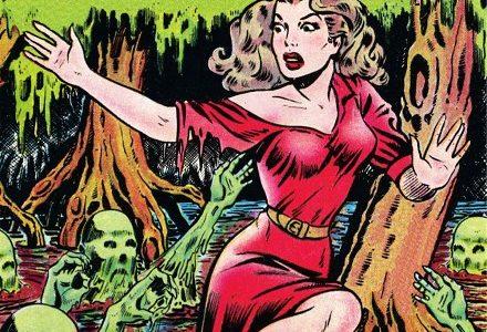 Biblioteca de cómics de terror de los años 50. Vol. 5: Criaturas del pantano