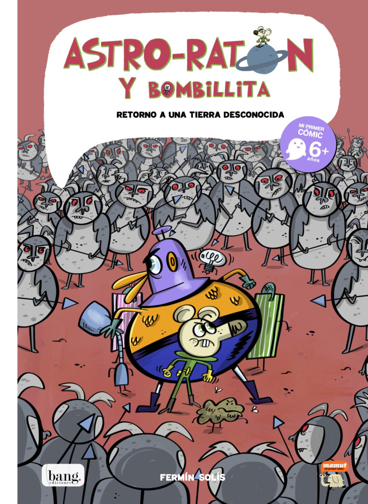 Novedad Bang junio 2020 - Astro-ratón y Bombillita