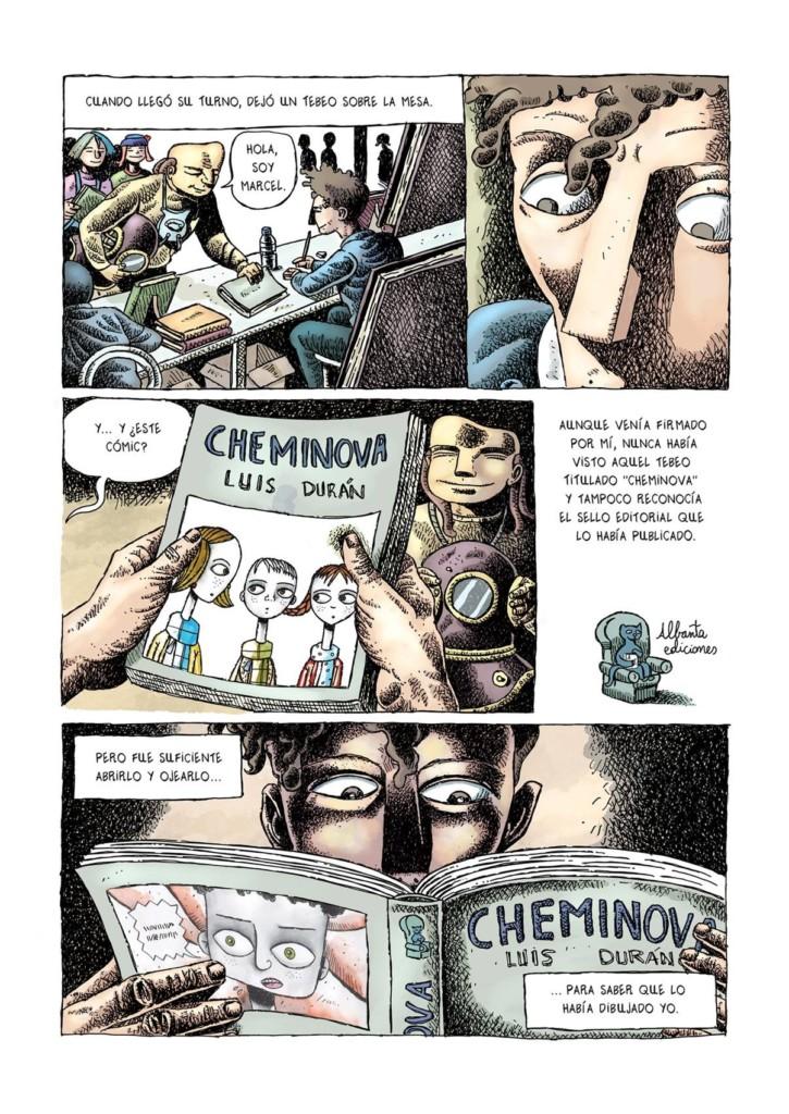 Orlando y el juego 5. Cheminova