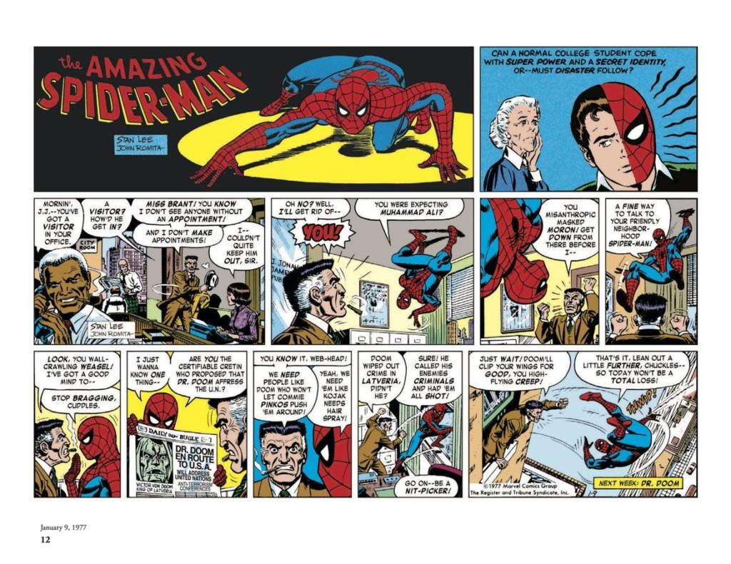 El Asombroso Spiderman: Las tiras de prensa 1977-1979
