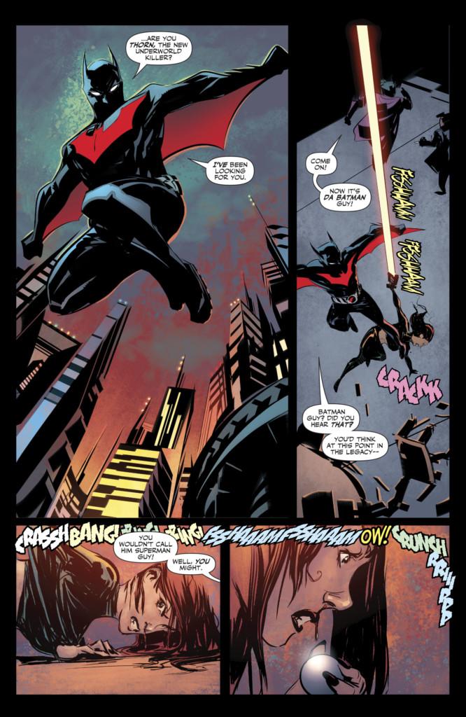 Legión de Superhéroes millenium 01