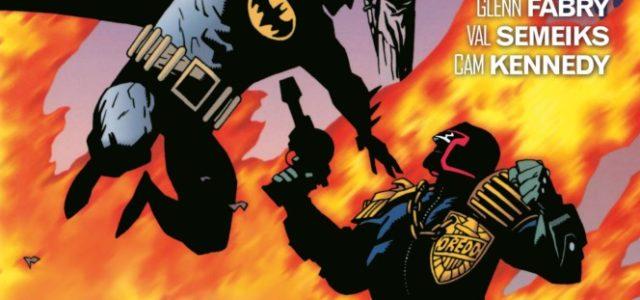 Batman/Juez dredd, de Alan Grant, John Wagner, Simon Bisley, Glenn Fabry…