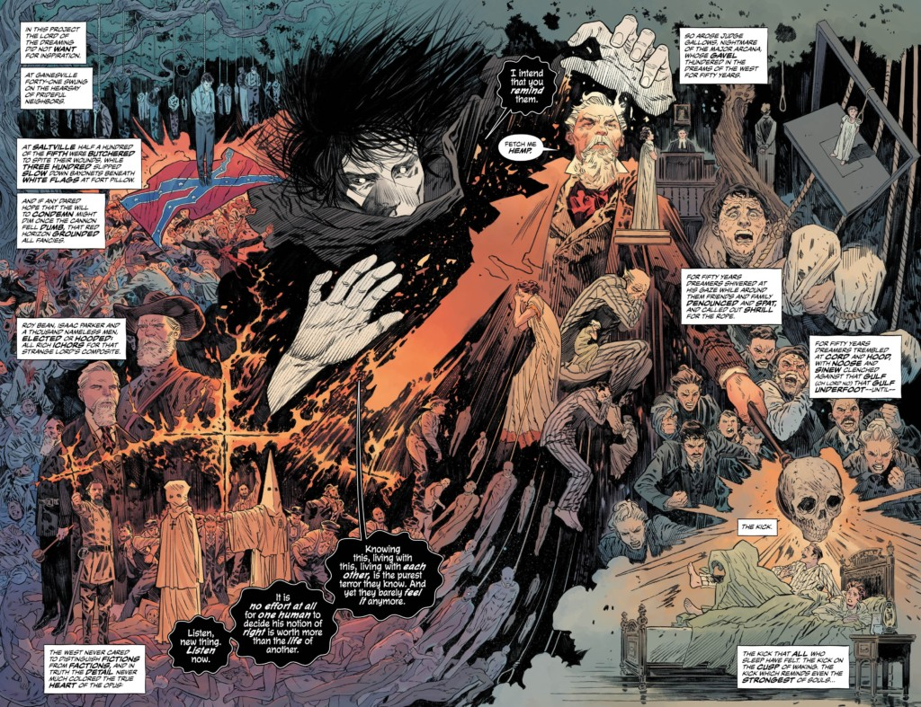 Universo Sandman. El Sueño: Senderos y emanaciones