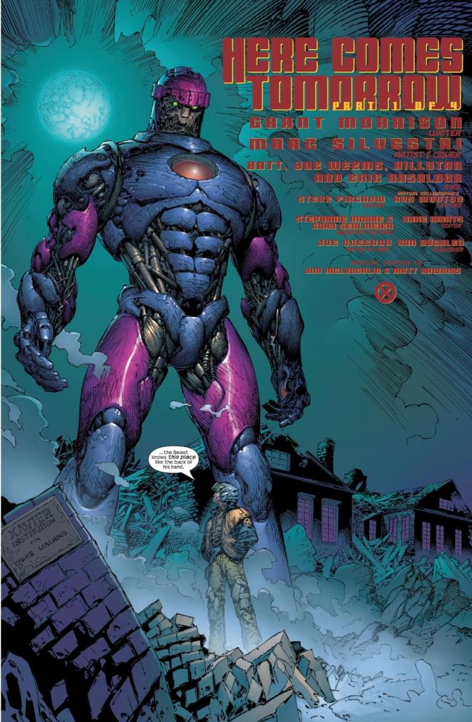 New X-Men centinelas