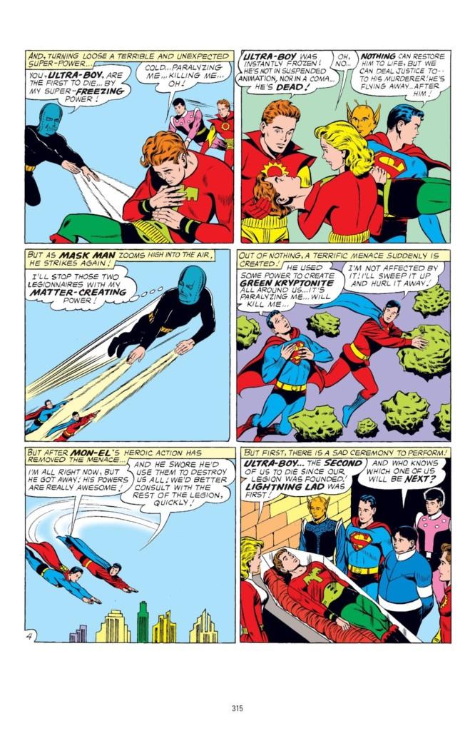 legion of superheroes silver age omnibus 1 pg3