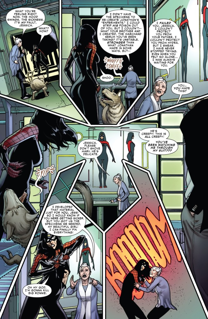spiderwoman mala sangre pg3