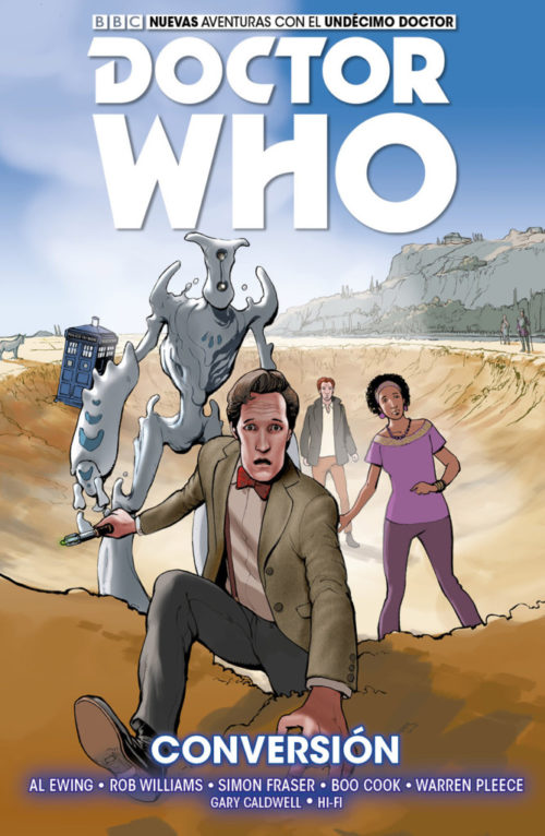 11º DOCTOR WHO Vol. 3 CONVERSIÓN