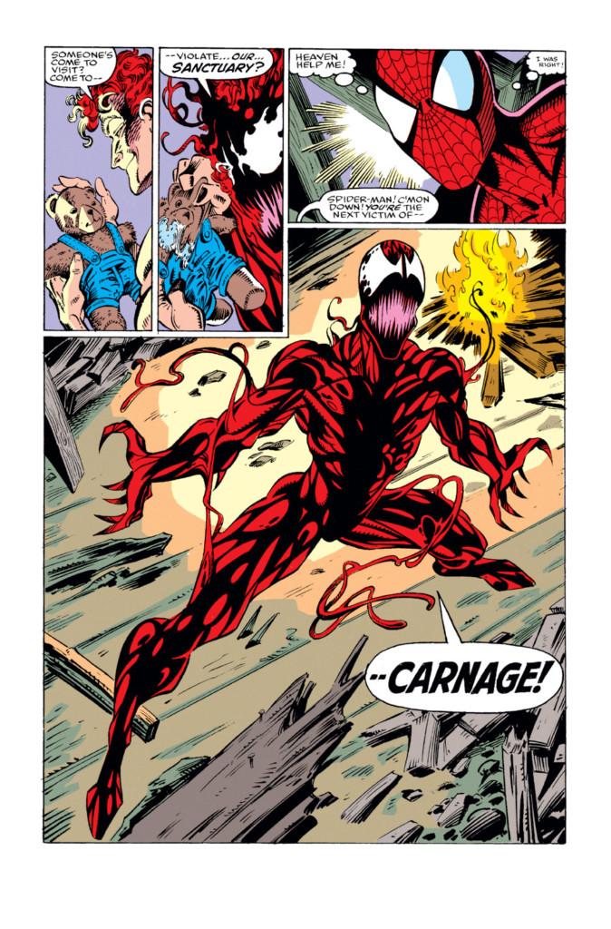 El Asombroso Spiderman El nacimiento de Matanza pg3