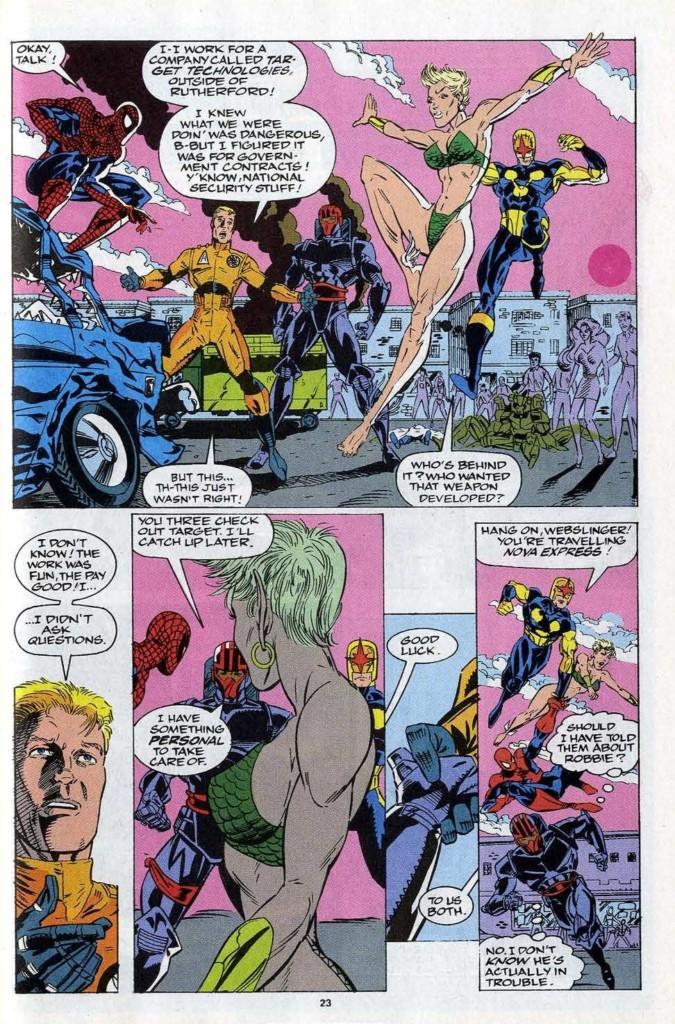 El Asombroso Spiderman El nacimiento de Matanza pg4